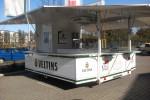 Veltins Ausschankwagen mit Kühlzelle