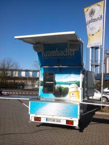 Krombacher Partymobil