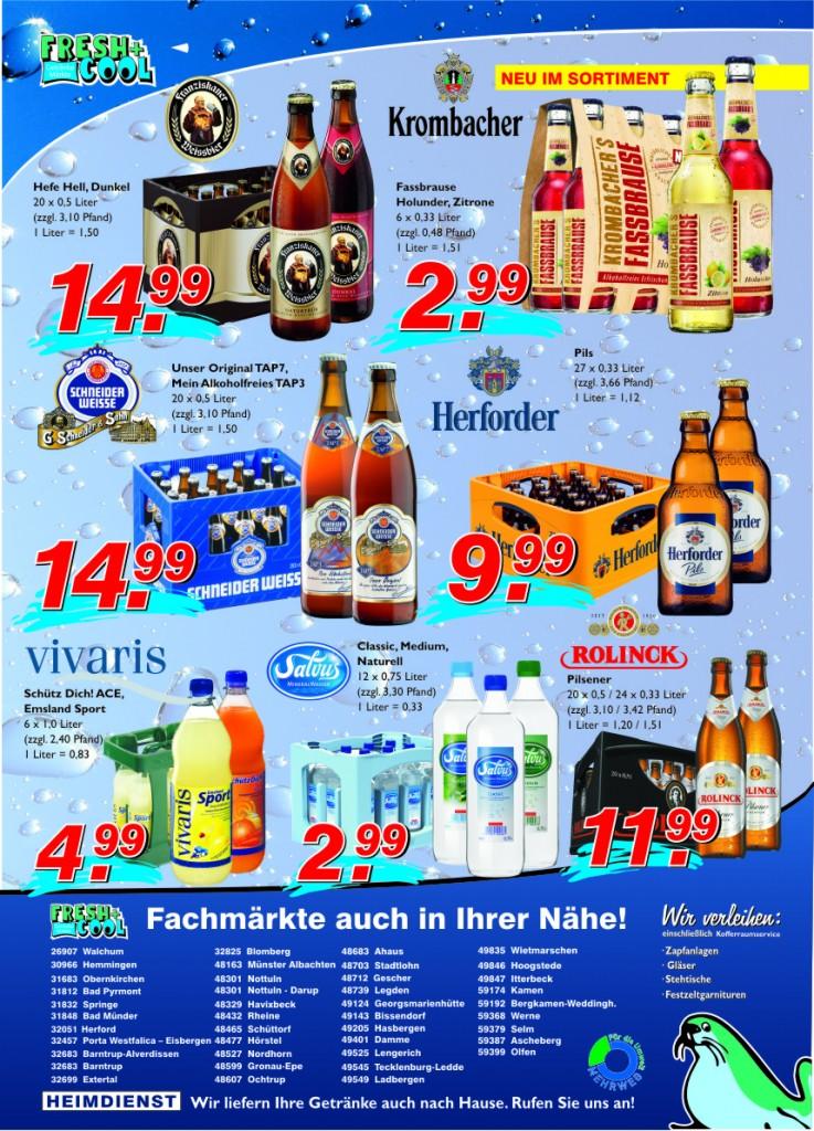 Angebote vom 30.08.-05.09.2012 Seite 2 | Getränke Rücker