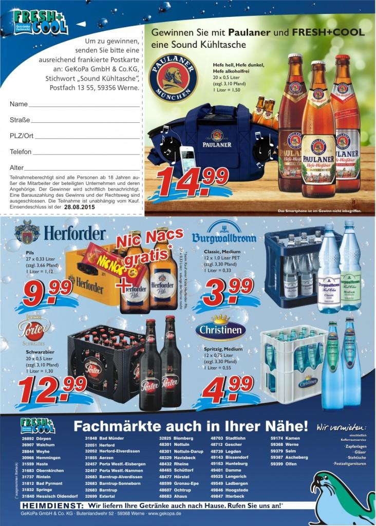 Angebote vom 20.-26.08.2015 Seite 2 | Getränke Rücker