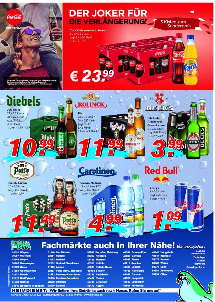 Angebote vom 09.-15.06.2016 Seite 2 | Getränke Rücker