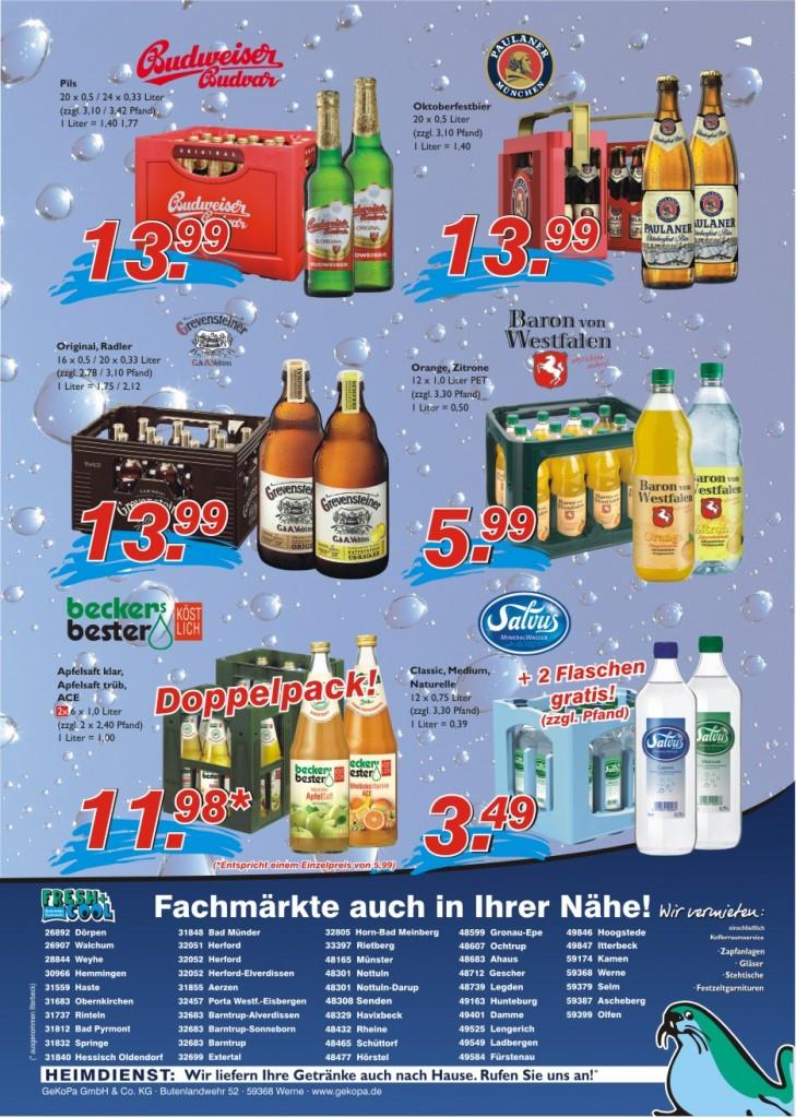 Angebote vom 15.-21.09.2016 Seite 2 | Getränke Rücker