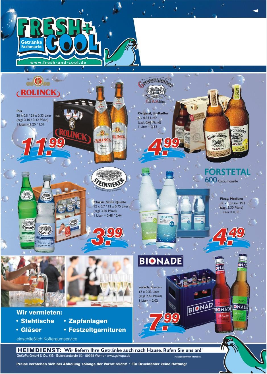 Angebote vom 31.08.-06.09.2017 Seite 2 | Getränke Rücker
